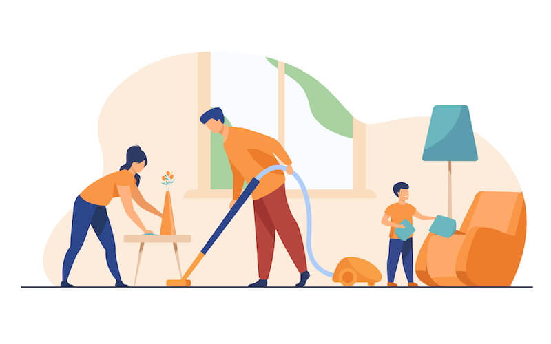 不論是全職媽媽或上班媽媽,在家裡都有著做不完的家務事,幸福的是,現代媽媽可以請 智慧家電代勞